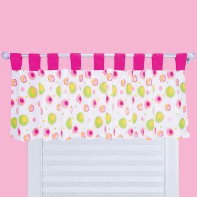 Trend Lab® Splash Valance in Pink/White