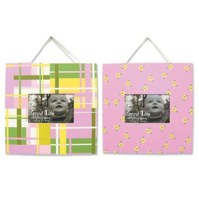 Trend Lab® Nantucket Frames in Pink (Set of 2)