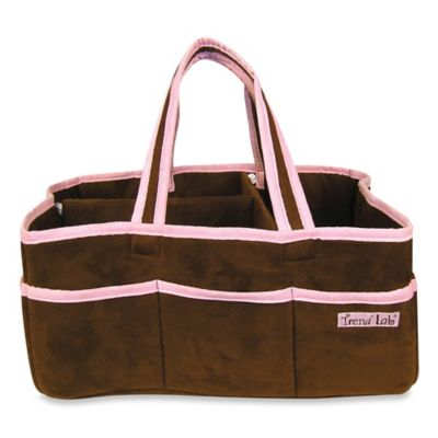 Trend Lab® Storage Caddy in Brown/Pink