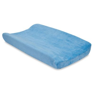 Trend Lab® Coral Fleece Changing Pad Cover in Sky Blue
