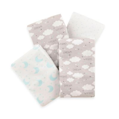 Carter's® 4-Pack Celestial Flannel Receiving Blankets