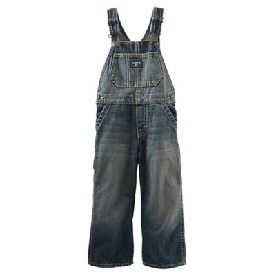 OshKosh B'gosh® Size 6M Brooklyn Wash Denim Overalls
