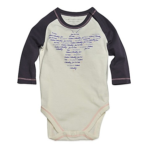 Buy Burt S Bees Baby 174 Size 18m Organic Cotton Bee Bodysuit