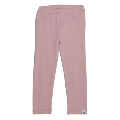 Burt's Bees Baby® Size 3-6M Organic Cotton Jegging in Pink