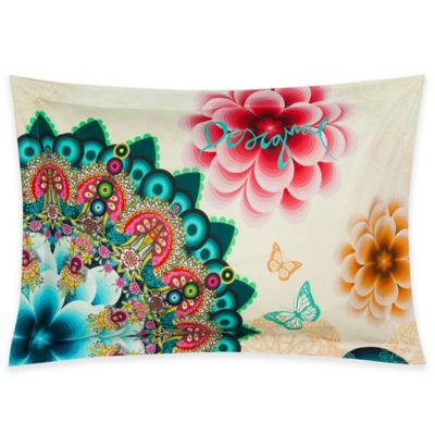 Desigual Mandala Standard Pillow Sham in Multi