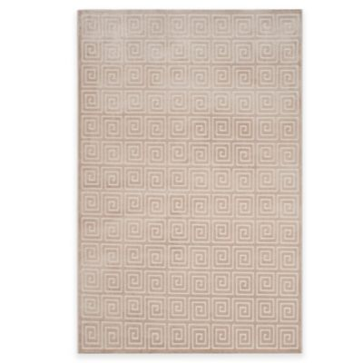Safavieh Paradise Greek Key 3-Foot x 5-Foot Accent Rug in Crème