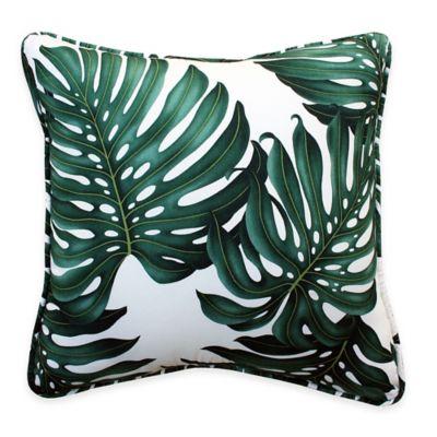 Cotton Green Decorative Pillows