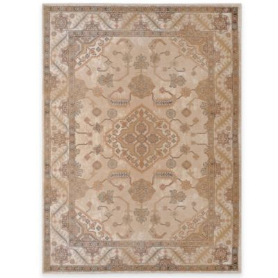 Legend 2 Traditional 5-Foot 2-Inch x 7-Foot 2-Inch Area Rug in Beige