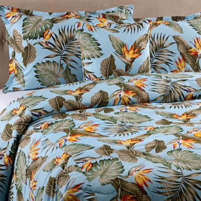 Sky Birds Queen Comforter Set in Blue