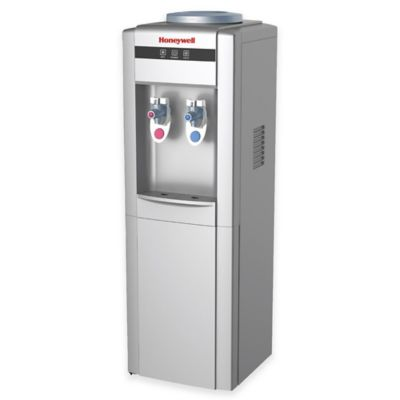 Honeywell 5-Gallon Hot and Cold Top-Loading Water Dispenser in Silver