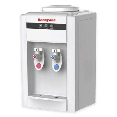 Honeywell 5-Gallon Hot and Cold Top-Loading Table Water Dispenser in White