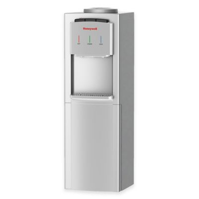 Honeywell 5-Gallon Hot, Cold and Room Temp Top-Loading Water Dispenser in Silver