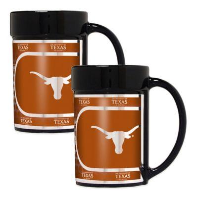 University of Texas Metallic Coffee Mugs
