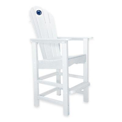Penn State University Pub Captains Chair in White