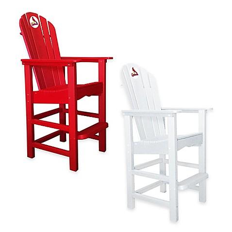 MLB St Louis Cardinals Pub Captains Chair Www