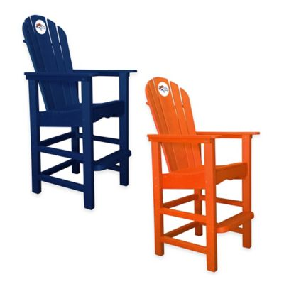 NFL Denver Broncos Pub Captains Chair in Orange
