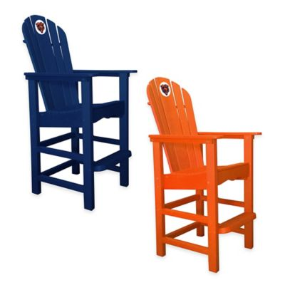 NFL Chicago Bears Pub Captains Chair in Orange