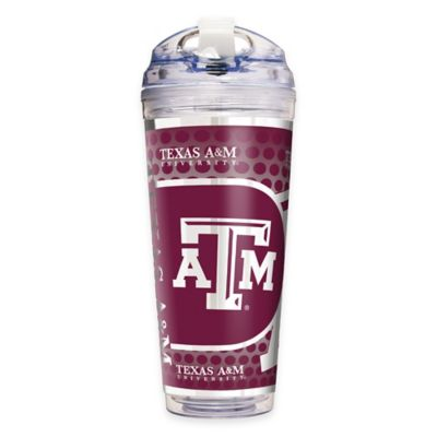 Texas A&M University Double-Wall Acrylic 24 oz. Travel Tumbler