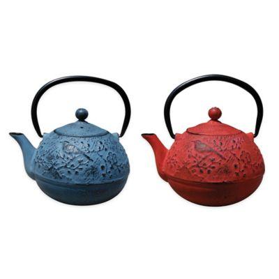 "Old Dutch International Unity® 24 oz. ""Suzume"" Teapot in Waterfall Bule"