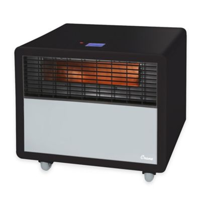 Crane Infrared Smart Heater in Black