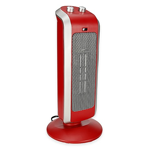 Buy Crane Ceramic Tower Heater In Red From Bed Bath Amp Beyond