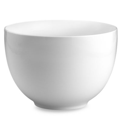 White Deep Bowl