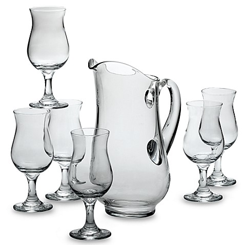 Sangria Glassware Serving Set 7 Pieces Libbey 1 Pitcher 6 Glasses Recipe Card. Free shipping and handling on all domestic orders! New (Other) $ Glazed Clay Terracotta Sausage Roaster and Wine Sangria Pitcher Set (Food Safe) See more like this. New Listing Capri Royal Sealy Japan Vtg Sangria Set Pitcher & 2 Handle-less Cups. $