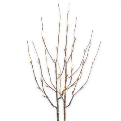 39-Inch Battery Operated Birch LED Branches