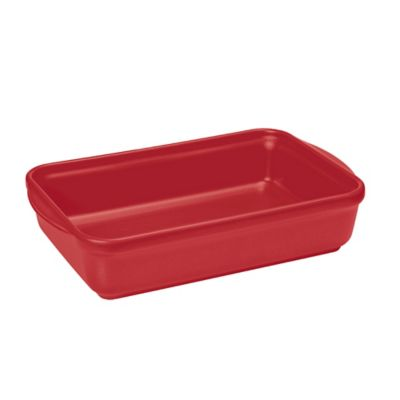 French Home 13-Inch x 9-Inch Rectangular Baking Dish in Red