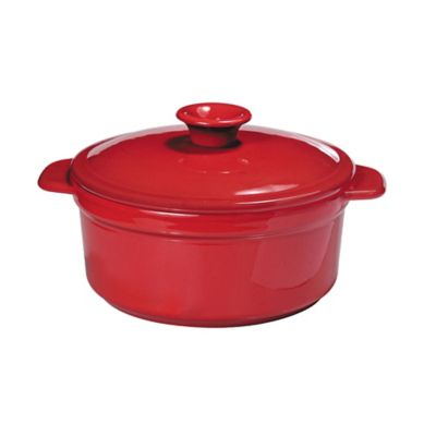 French Home 5.8 qt. Dutch Oven in Red
