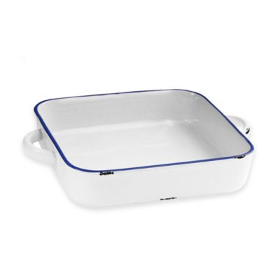 American Atelier 8.25-Inch x 13-Inch Vintage Baking Dish in Blue