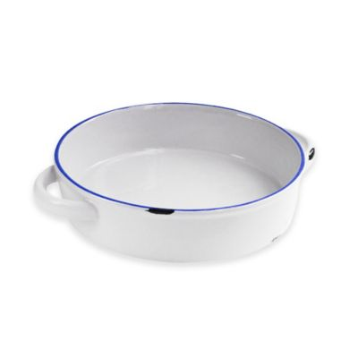 American Atelier 11-Inch Vintage Baking Dish in Blue