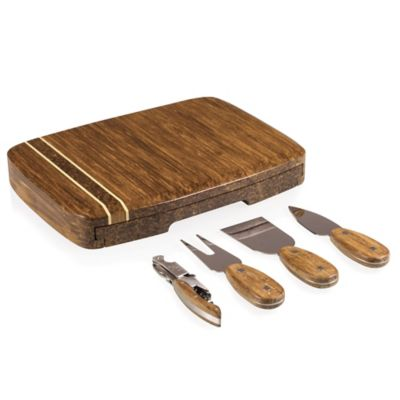 Picnic Time® Verano 5-Piece Cheese Board and Tool Set