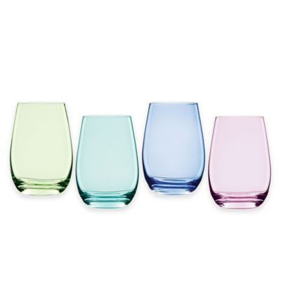 Marquis® by Waterford Vintage Ombre Stemless Wine Glasses (Set of 4)