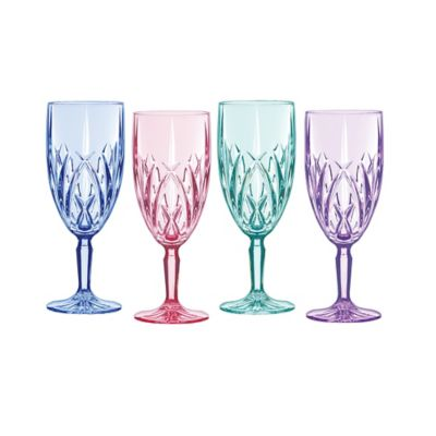 Marquis by Waterford Brookside Pastels Iced Beverage Glasses (Set of 4)