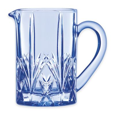 Marquis by Waterford Brookside Pastels Pitcher in Blue