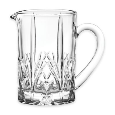 Marquis by Waterford Brookside Pastels Pitcher in Clear