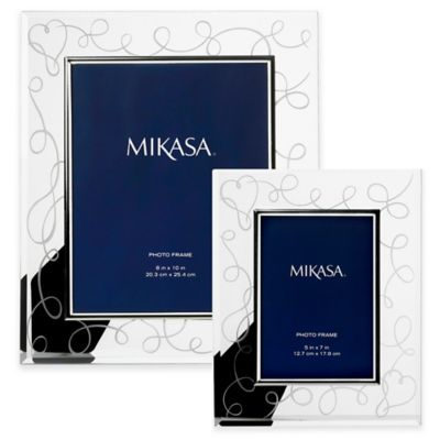 Mikasa® Love Story 5-Inch x 7-Inch Crystal Picture Frame
