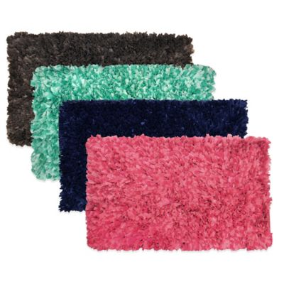 Pink Cotton Bath Rugs