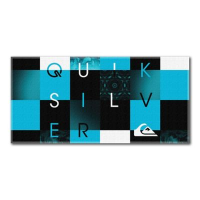 Quiksilver® Checkmate Beach Towel in Blue