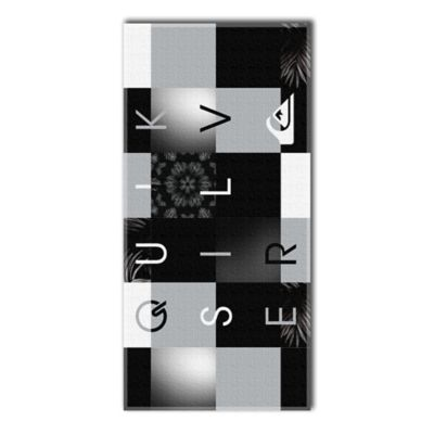 Quiksilver Checkmate Beach Towel Beach Towels