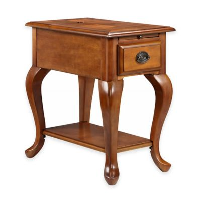 Stein World Shenandoah Chair Side Table in Brown