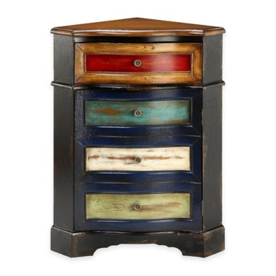 Stein World Shiloh Corner Accent Chest