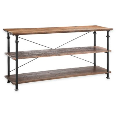 Poplar Estates Metal Console Table