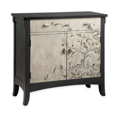 Stein World Graham Freeform Scroll Pattern Cabinet