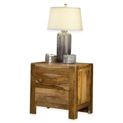 Atria Nightstand in Brown