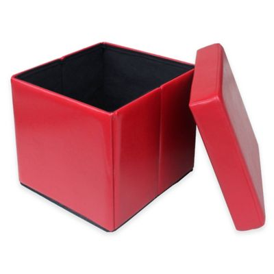 Urban Storage Folding Cube in Red