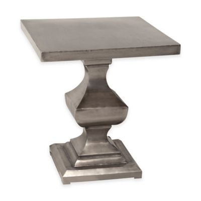 Antique Nickel Accent & End Tables