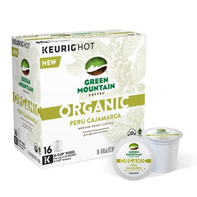 Keurig® K-Cup® Pack 16-Count Green Mountain Coffee® Organic Peru Cajamarca Coffee