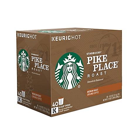 Keurig 174 K Cup 174 Pack 40 Count Starbucks 174 Pike Place 174 Roast